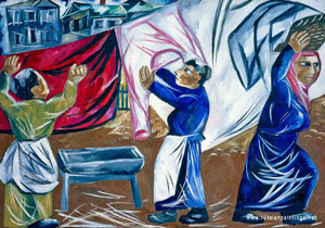goncharova_laundresses