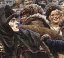 Vasilij Surikov. La boiarynia Morozova