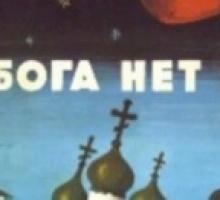Dio non esiste! Parola di kosmonauta!